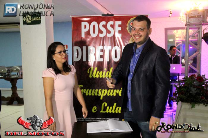 Posse da nova diretoria do SEEB RO