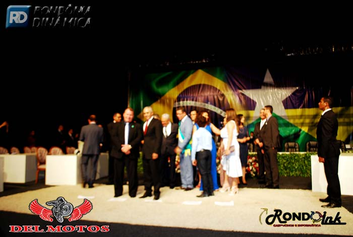 Posse do Governador Marcos Rocha