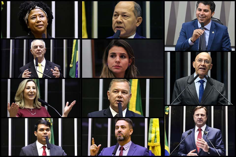 Nem deputados nem senadores: bancada de Rondônia sai de ''mãos abanando'' do Prêmio Congresso em Foco