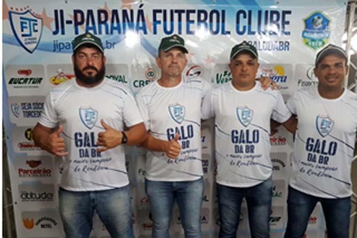 Ji-Paraná apresenta elenco e comissão técnica para 2019   Rondônia ... f5daecf2e5d40