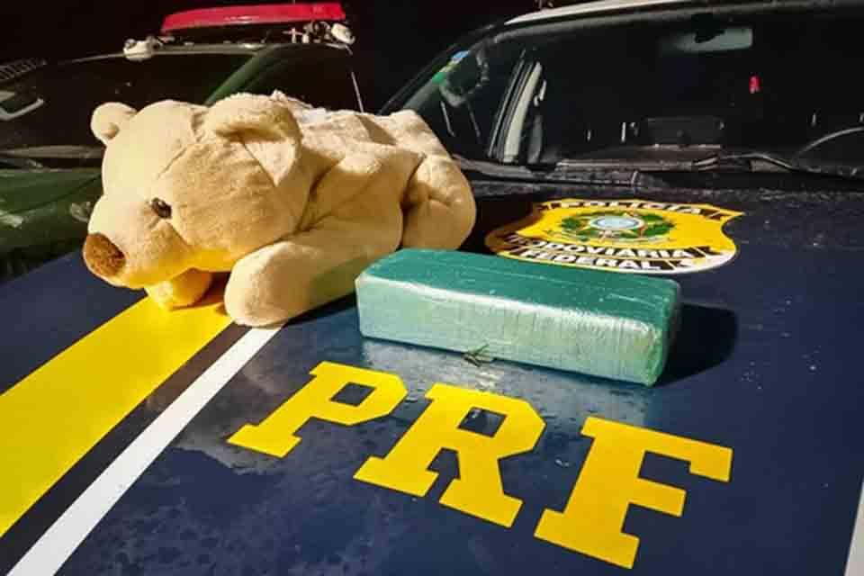 Em Guajará-Mirim/RO PRF apreende urso de pelúcia recheado de Cocaína |  Polícia | Rondônia Dinâmica