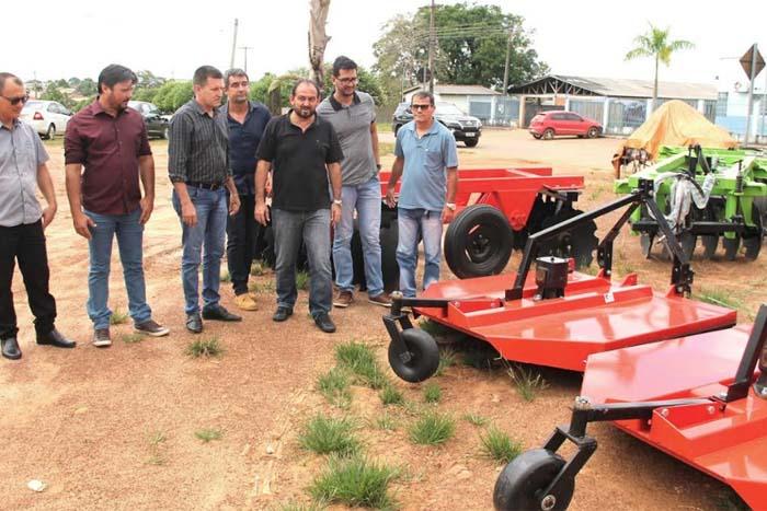 Em Urupá, deputado Laerte Gomes acompanha investimentos de emendas parlamentares