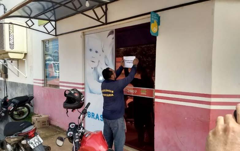 Ação conjunta detecta irregularidades em serviços de saúde e interdita farmácia