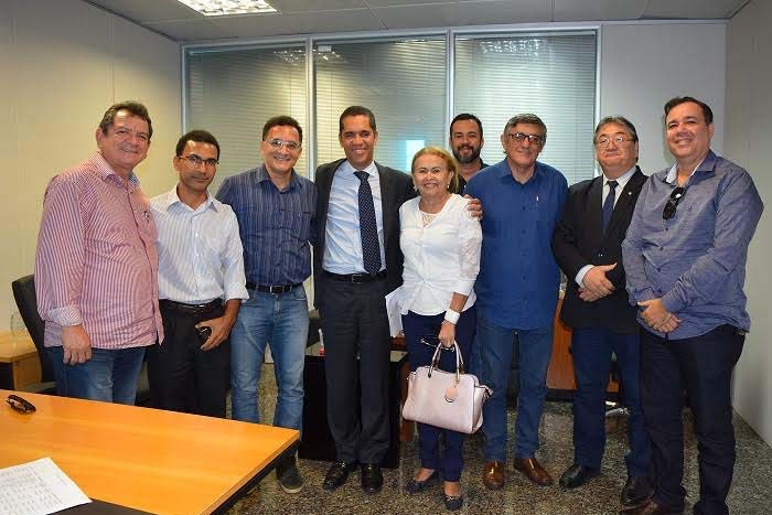 Diretoria do Sindafisco visita a nova equipe da SEFIN