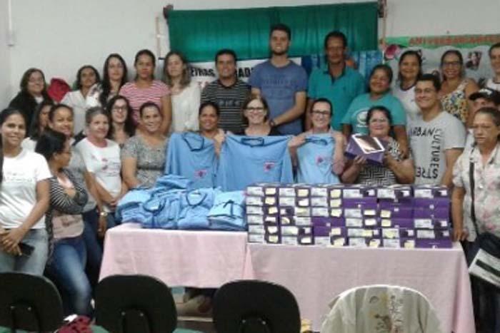Prefeitura entrega tablets para agentes de saúde e informatiza coleta de dados