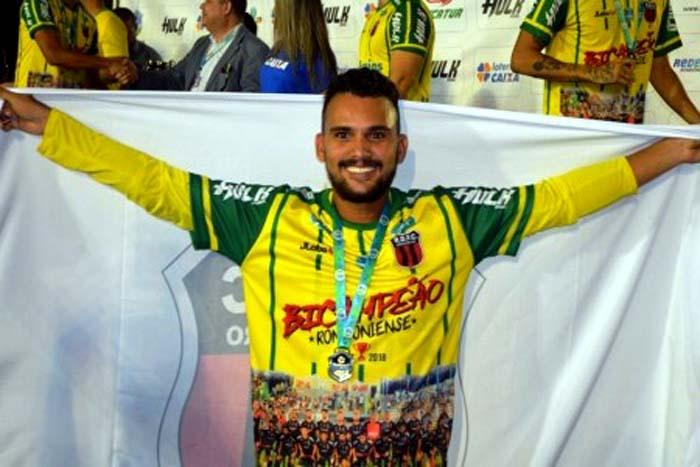 Giovane Cunha deixa o Real Ariquemes e vai para o futebol sueco