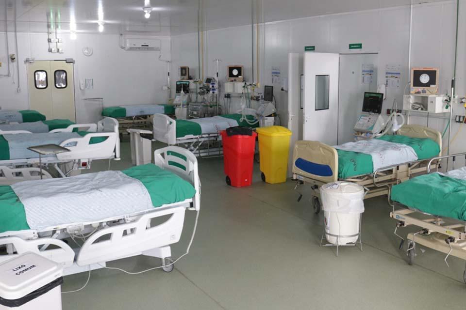 Unidade de Assistência Médica Intensiva libera 35 leitos para atendimento aos casos graves de Covid-19