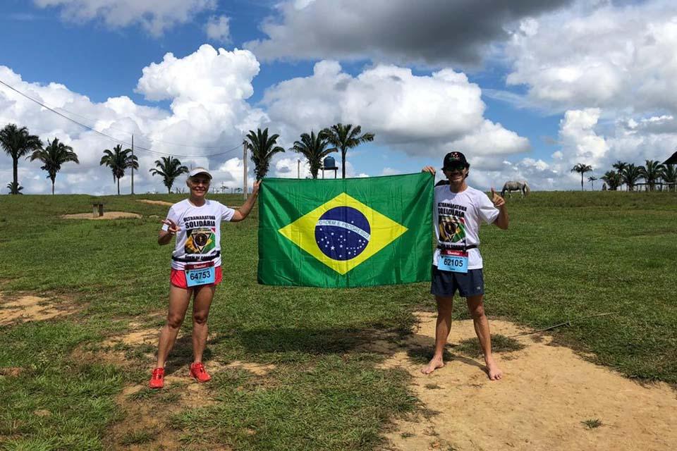 Atletas rondonienses participam de tradicional ultramaratona da África do Sul