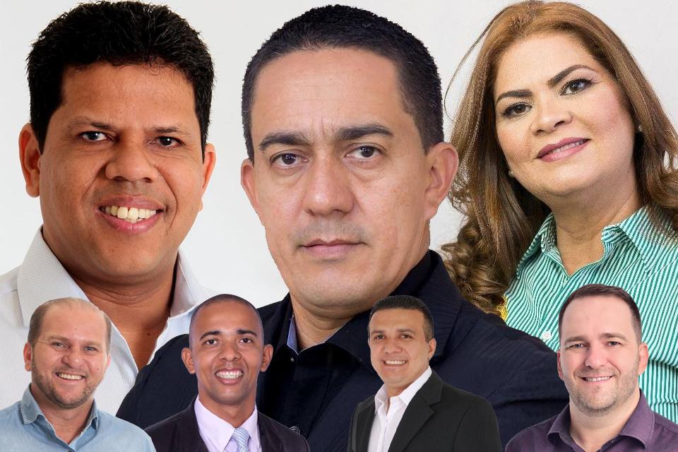 Sete deputados estaduais e um único destino na Assembleia Legislativa de Rondônia