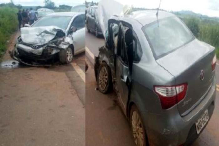 BR-364: Grave acidente envolvendo dois ve�culos resulta na morte de duas pessoas