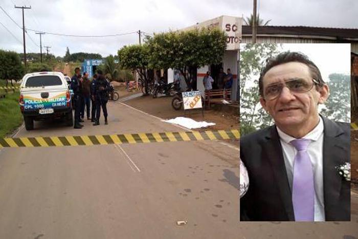 Presidente de Associação é assassinado a tiros em Buritis
