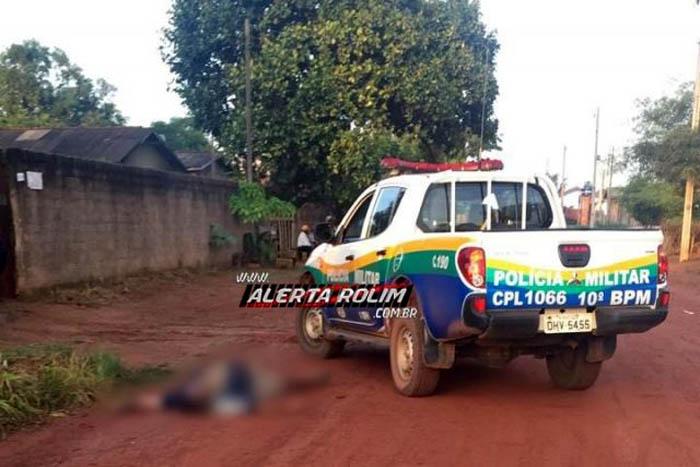 Polícia Militar encontra homem morto caído em via pública