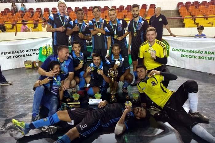 União e Divisa vão representar Rondônia no Campeonato Brasileiro de Futebol 7 no RS