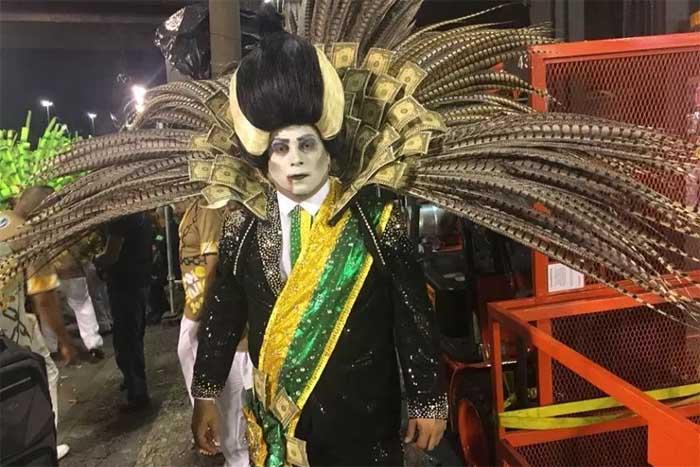 Resultado de imagem para temer escola de samba
