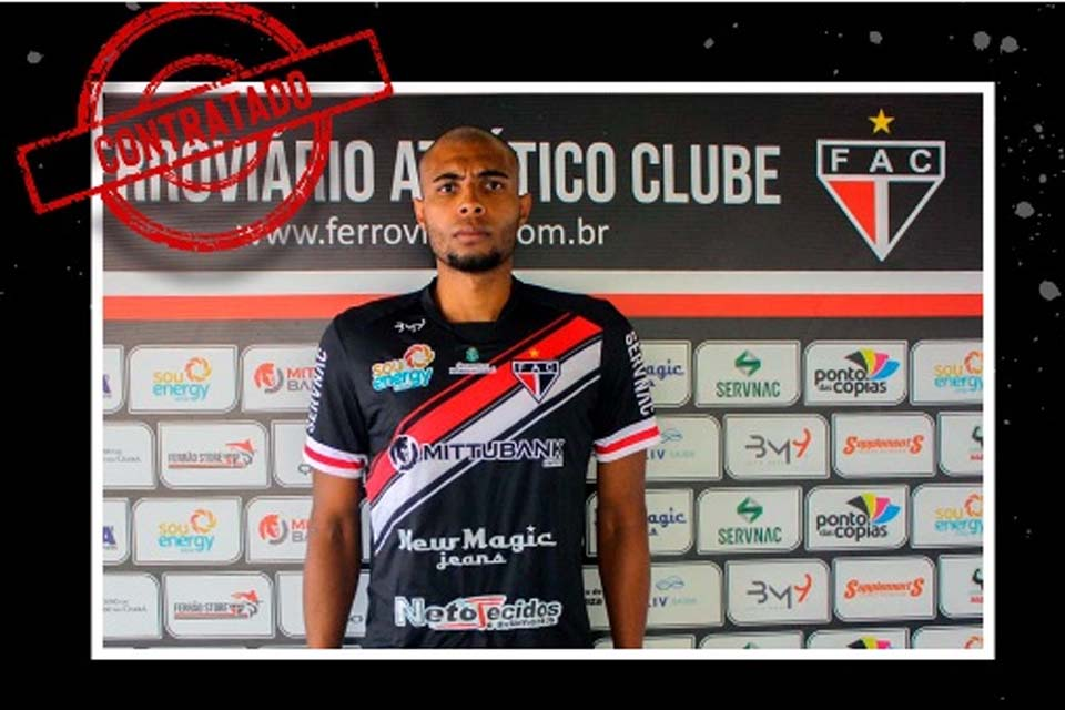 Ex-Ji-Paraná, goleiro Serjão é anunciado pelo Ferroviário