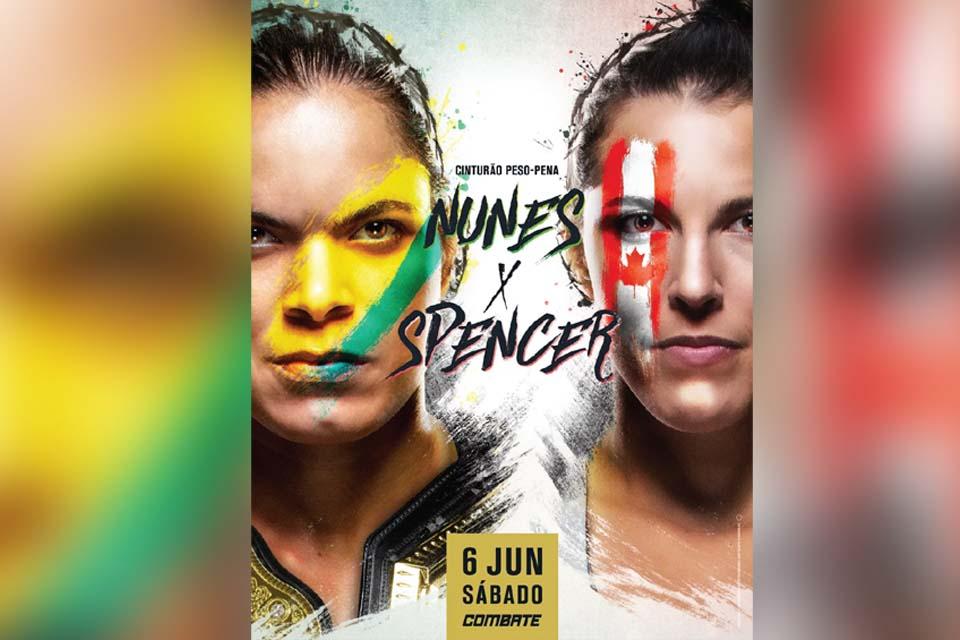 Amanda Nunes faz a primeira defesa do cinturão da categoria peso-pena