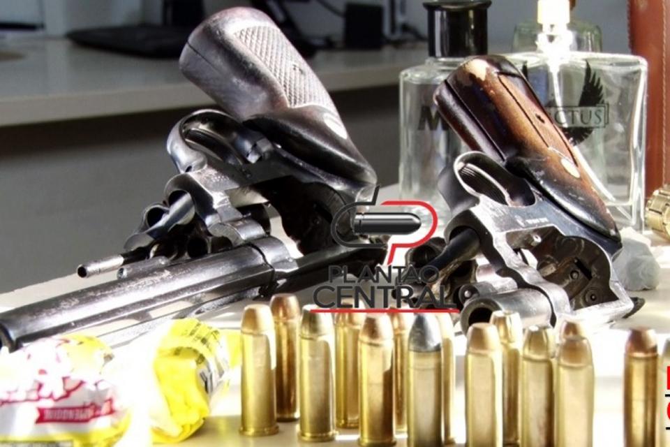 Polícia Militar prende quadrilha com armas e munições em Ji-Paraná