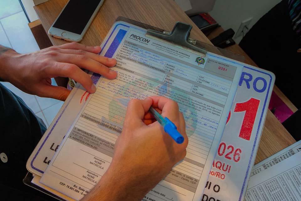 Procon fiscaliza produtos e serviços no interior de Rondônia