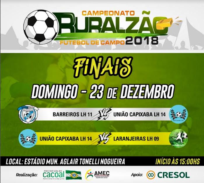 Finais do Ruralzão serão domingo, 23, no estádio Aglair Tonelli, em Cacoal