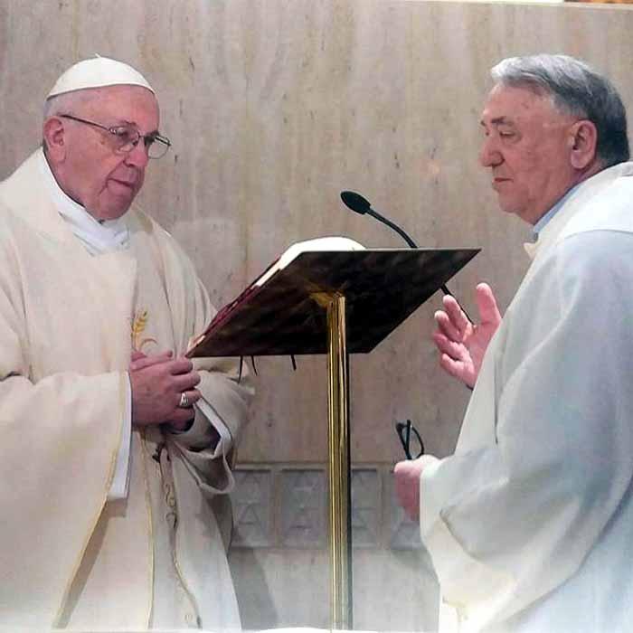 No Vaticano, ex-prefeito celebra missa com Papa Francisco, fala sobre prisão 'política e injusta de Lula' e pede bênçãos ao povo de Cacoal