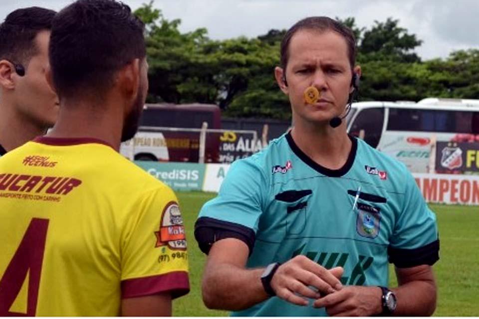 Jonathan Antero vai apitar duelo entre Vilhenense e Ji-Paraná