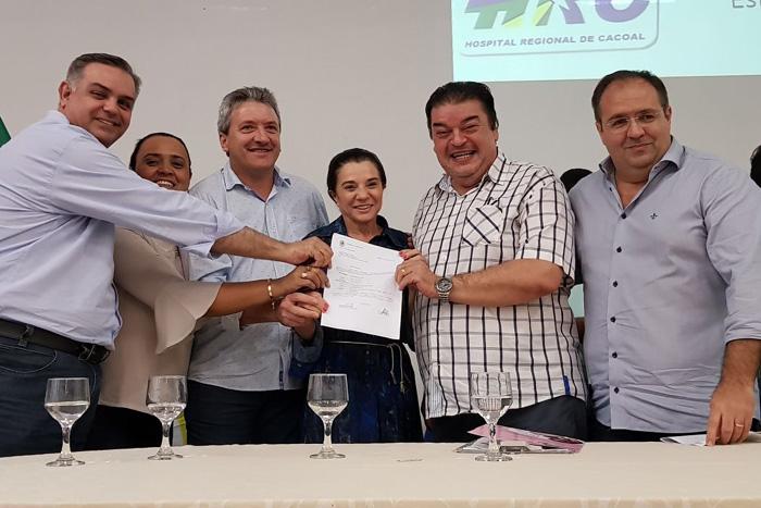Marinha Raupp garante R$ 3,5 milhões em 2018 para reforçar saúde básica dos municípios