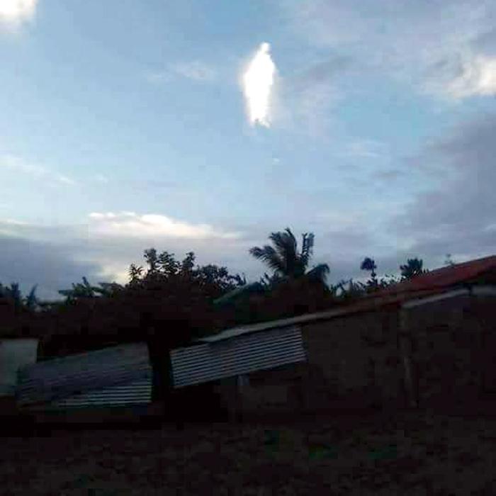 Suposta aparição de imagem santa nos céus intriga moradores de Rondônia