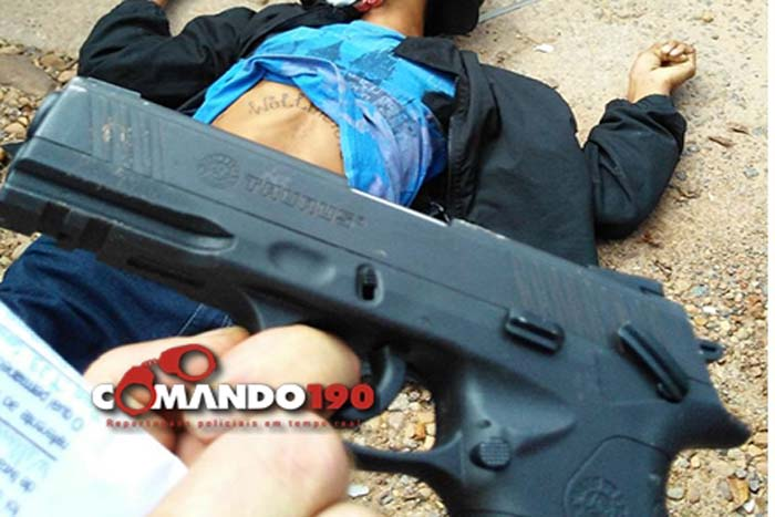Vítima reage assalto e mata acusado a tiros em Presidente Médici