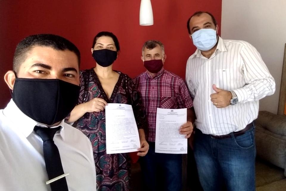 Deputada Cássia Muleta recebe ofício de vereadores pedindo emenda para Saúde em Jaru