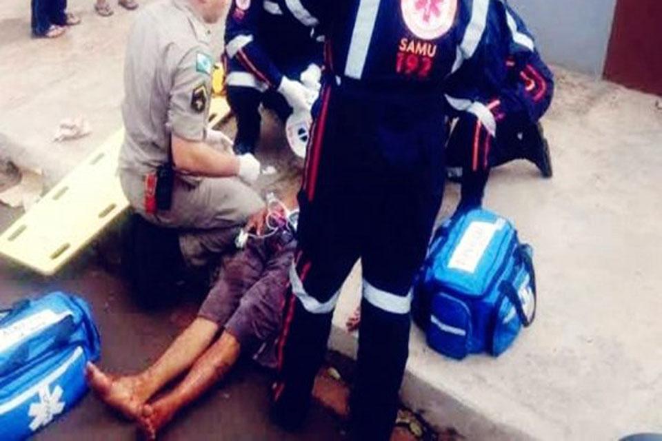 Bando ataca jovem a facadas durante assalto em Porto Velho
