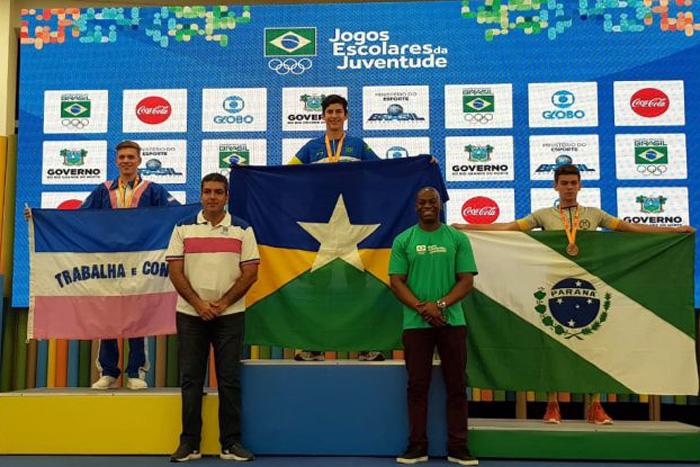 Com ouro e bronze, Rondônia tem melhor participação nos Jogos da Juventude