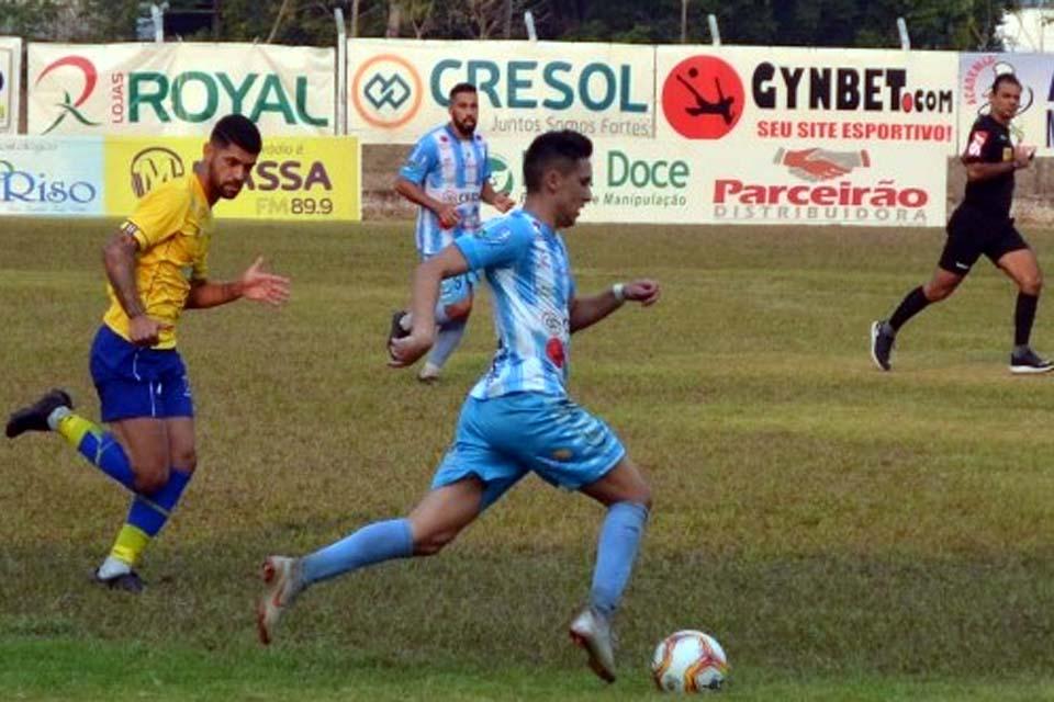 CBF confirma Ji-Paraná x Atlético Acreano no dia 20 de setembro