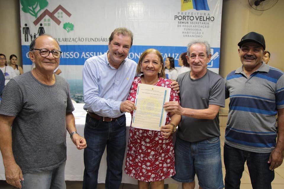 Em três anos, Prefeitura de Porto Velho beneficia mais de 6 mil famílias com títulos definitivos