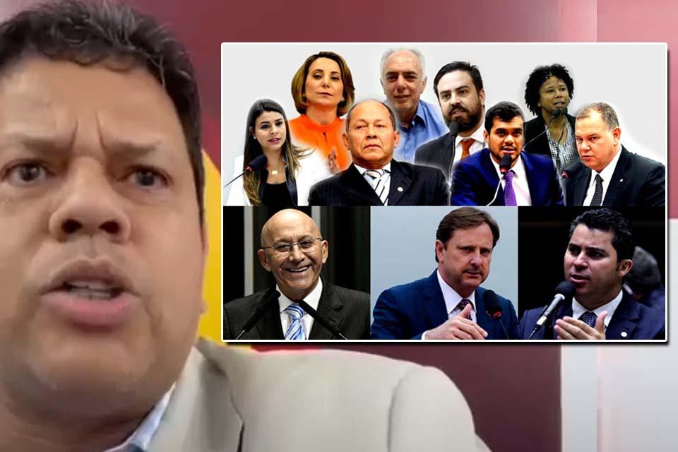 Jair Montes critica bancada federal porque Rondônia recebeu menos vacinas contra o Coronavírus do que o Acre