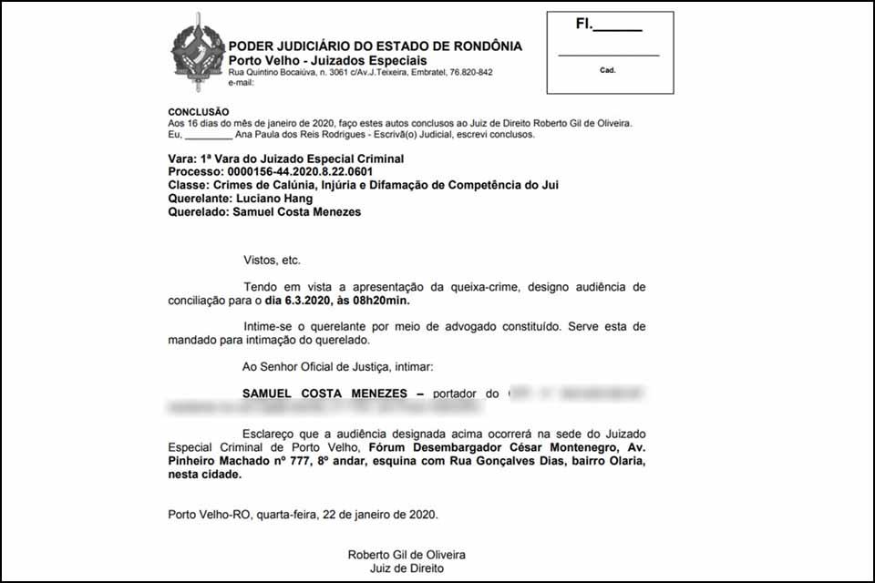 Luciano Hang, dono da Havan, processa criminalmente pré-candidato comunista à Prefeitura de Porto Velho