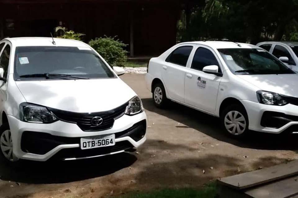 SEMA de Ariquemes recebe dois novos veículos para apoio nas ações de licenciamento e vistoria / Rondônia Dinâm - Rondônia Dinâmica