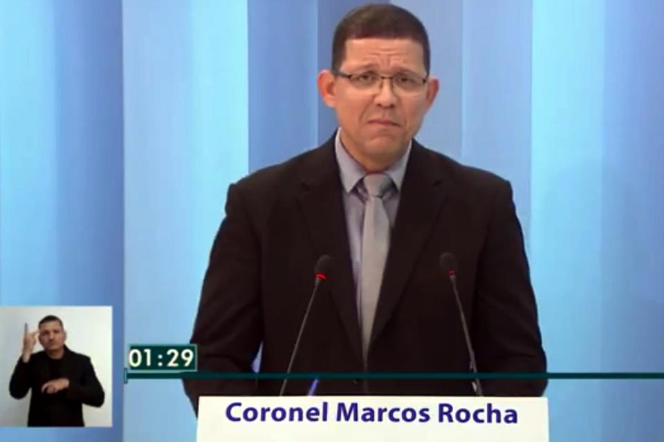 Coronel Marcos Rocha deixa claro: mentira tem perna curta e pé quebrado