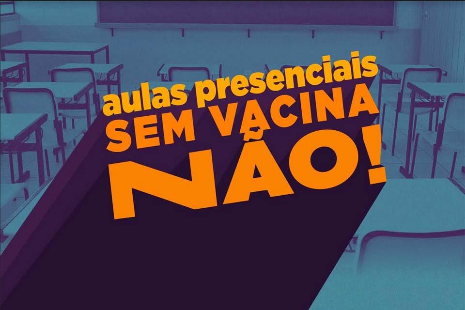 ABSURDO: Deputado apresenta PL pedindo retorno das aulas presenciais em Rondônia e Sintero manifesta sua indignação e total reprovação