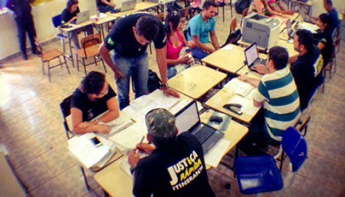 Justiça Rápida realiza triagens em Porto Murtinho e São Francisco do Guaporé