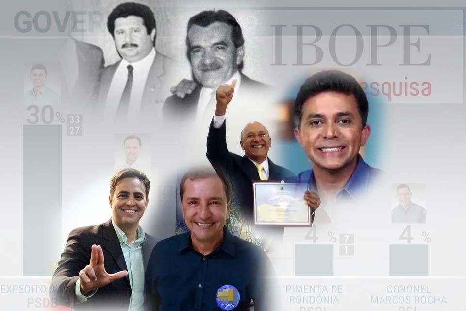 Cag**** históricas do Ibope e as desastrosas consequências nas eleições em Rondônia