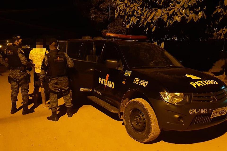 PATAMO prende quatro foragidos da justiça na noite desta terça-feira