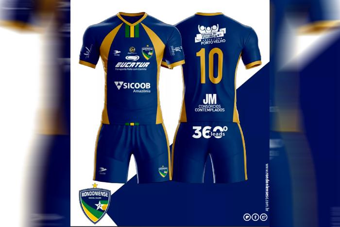 Camisa de jogadores do Rondoniense Social Clube é apresentada