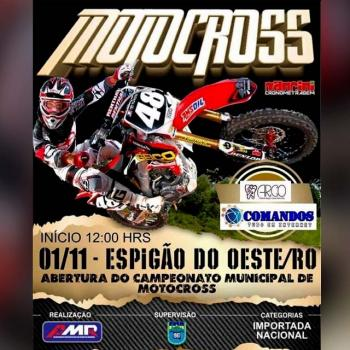 Primeira etapa do municipal de Motocross acontece neste domingo (1)