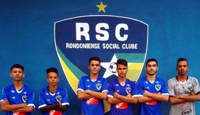 Rondoniense anuncia promoção de seis atletas da base