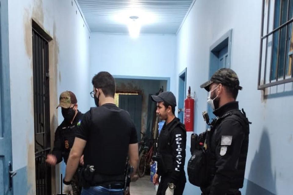 Policia Civil prende suspeitos de duplo homicídio em Monte Negro