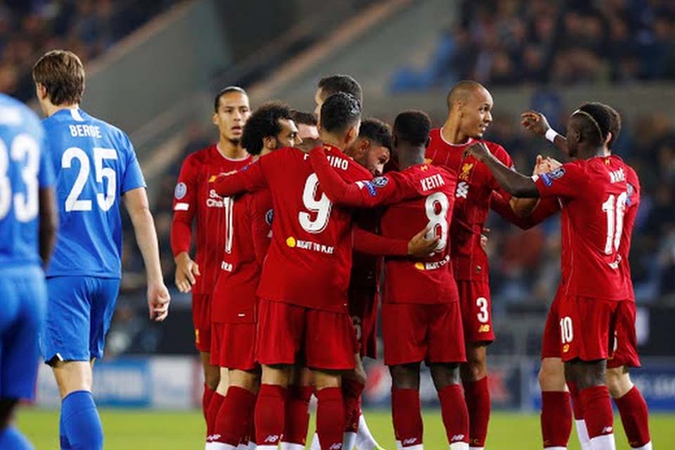 VÍDEO - Liverpool atropela o Genk fora de casa pela Champions League