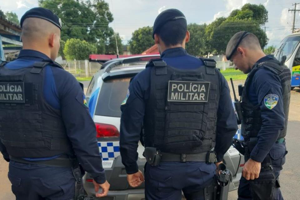 Polícia Militar recaptura dois foragidos da justiça em Jaru