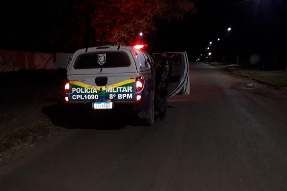 """PM prende homem conhecido como Ladrão """"cagão' em Machadinho"""