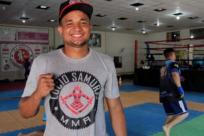 'É o meu ápice', diz lutador de Muay Thai que participará de mundial na Tailândia