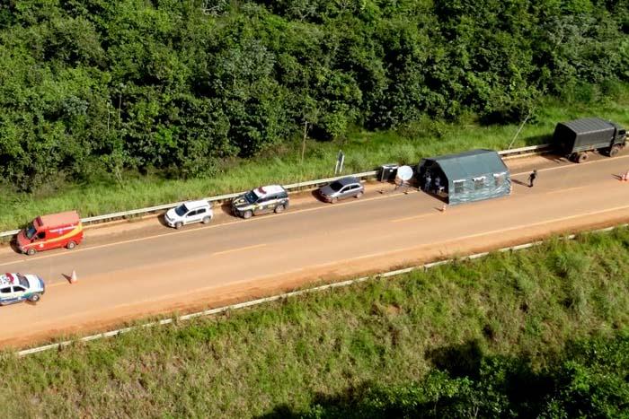 Mercadorias e armas são apreendidas durante Operação Fronteira Mais Segura realizada em 18 municípios de Rondônia